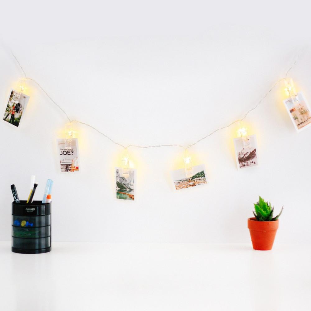 led إضاءة بمشابك أضواء زينة بمشابك اضاءة ال اي دي بمشابك ديكور مكتب