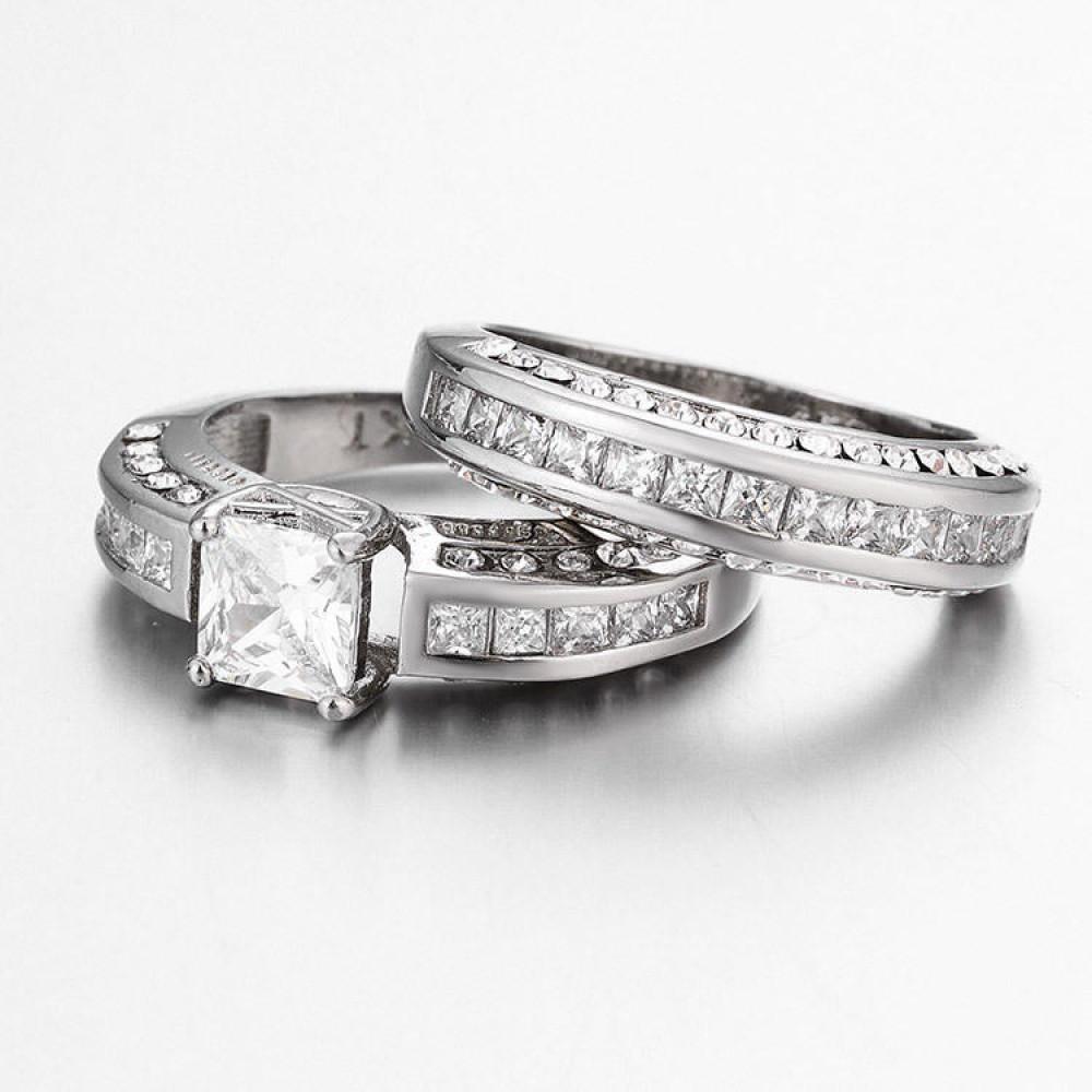 خاتم الزفاف من البلاتين للعروس