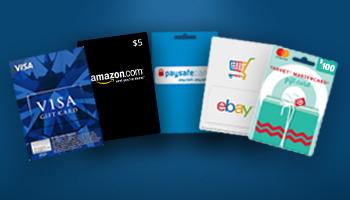 بطاقات التسوق عبر الإنترنت