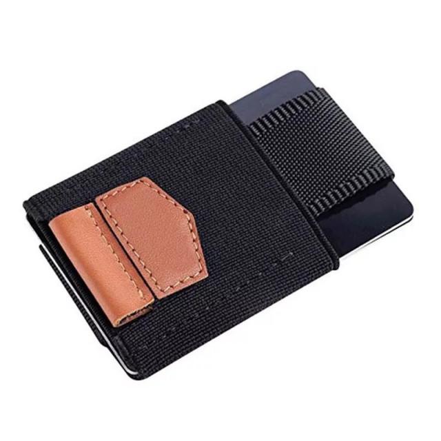 محفظة متعدده جلد تسع حتى 10 بطاقات