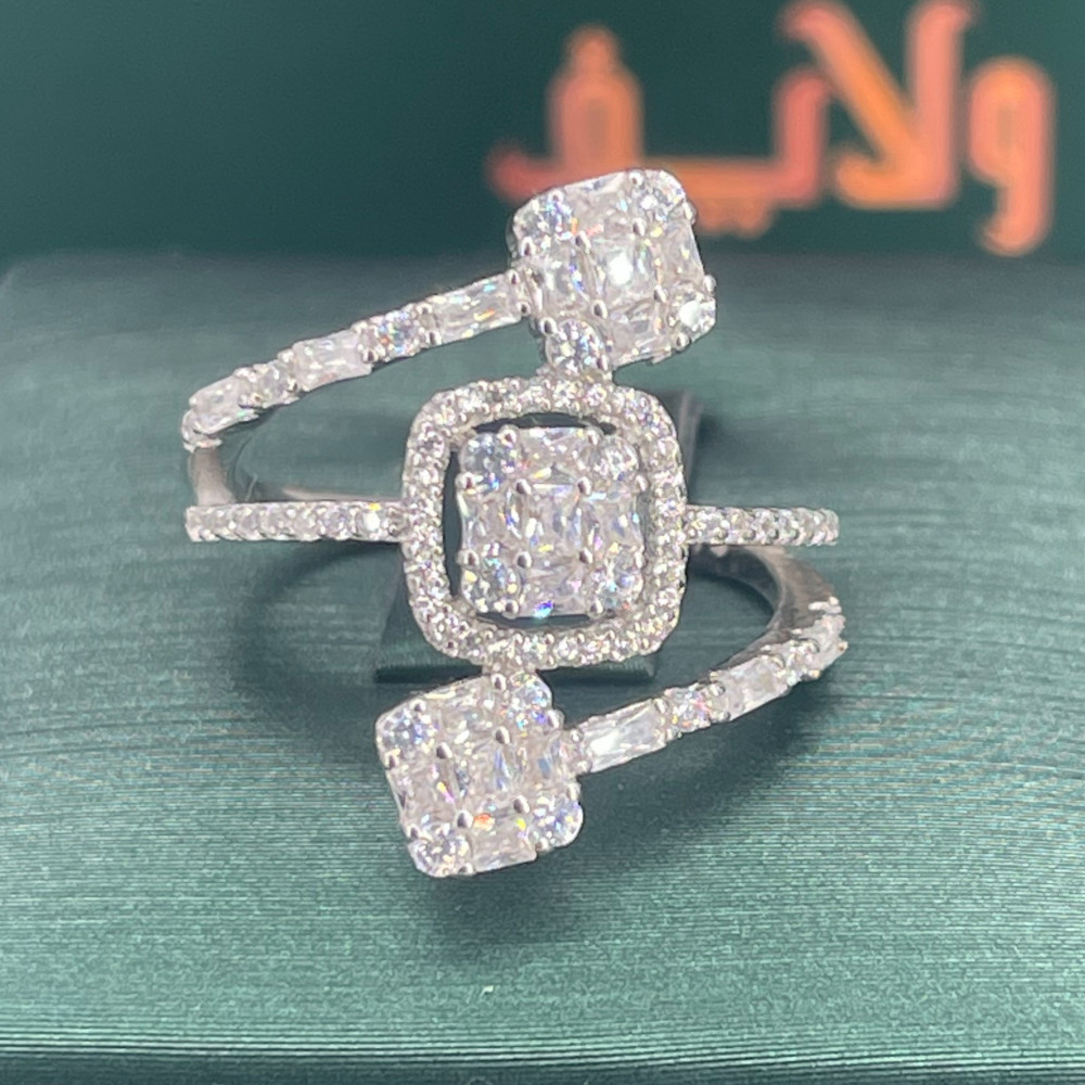 خاتم موديل الماس