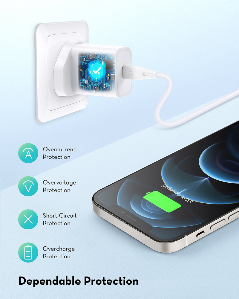 Ravpower Pd20W 1 Port Wall Charger White
