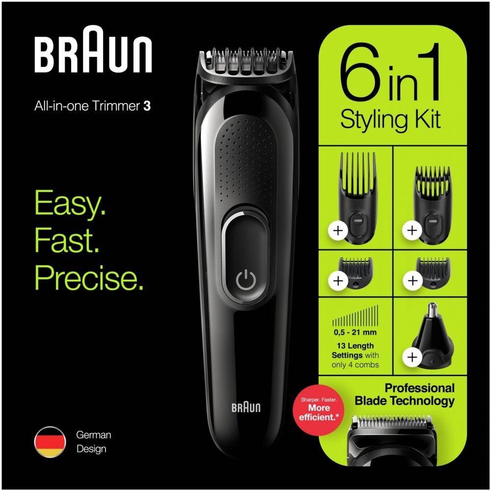 ماكينة حلاقة متعددة الاستخدامات من براون 6 في 1 تصميم الماني
