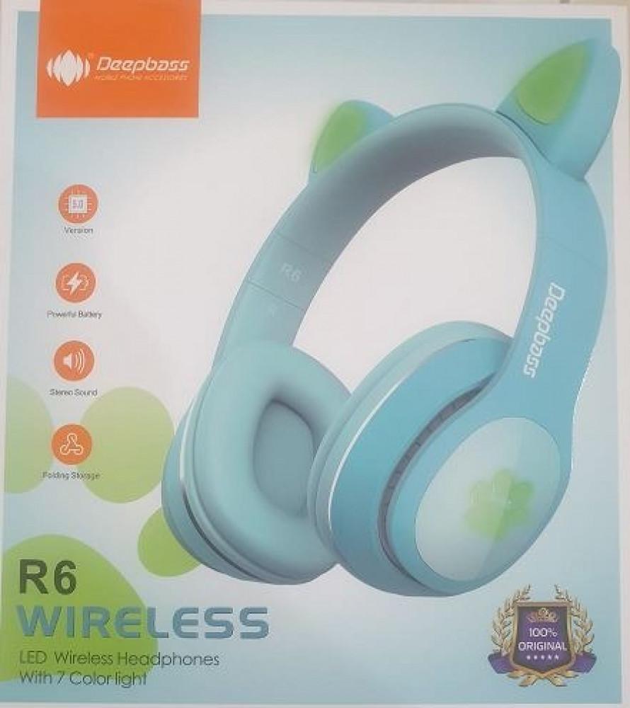 DEEPBASS R6 WIRELESS HEADPHONES