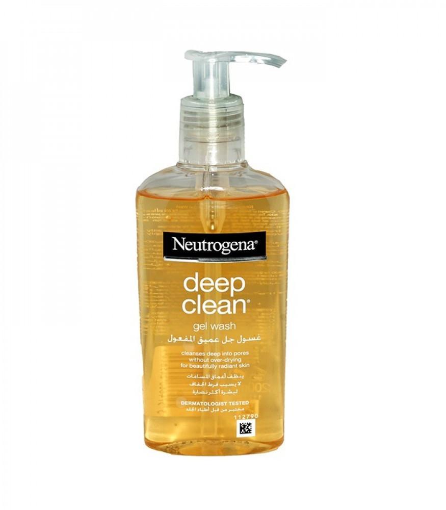 غسول للوجة لتنظيف عميق المفعول من نيوتريجينا -200مل