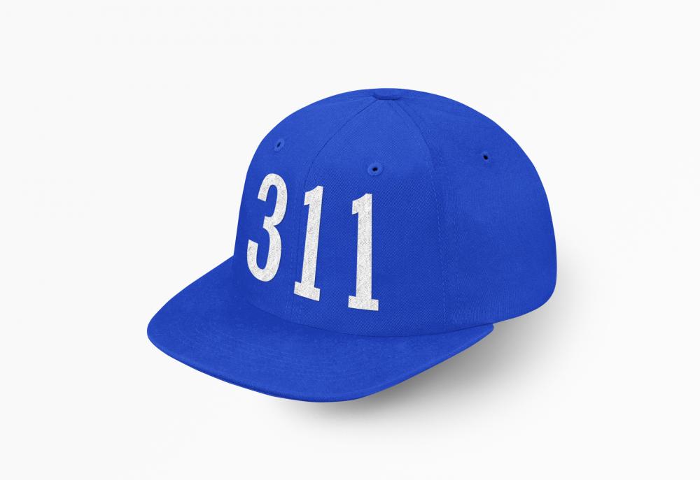 كاب 311 المسارحه ازرق