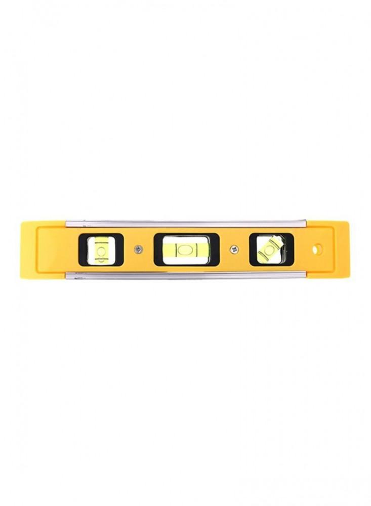 ميزان قياس صغير أصفر أسود  20 سنتيمتر