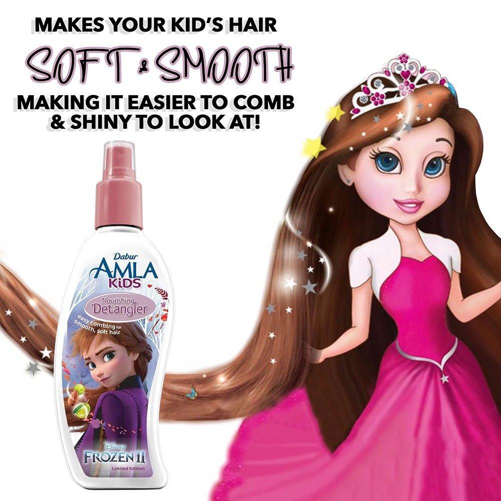 مزيل تشابك الشعر أملا للأطفال 200 مل من ماركة دابر