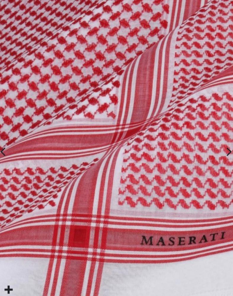 شماغ مازيراتي أحمر MASE-R