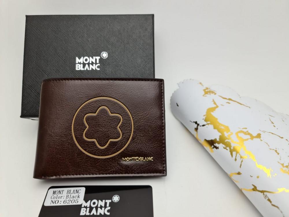 بوك رجالي جلد ماركة مونت بلانك Mont Blanc