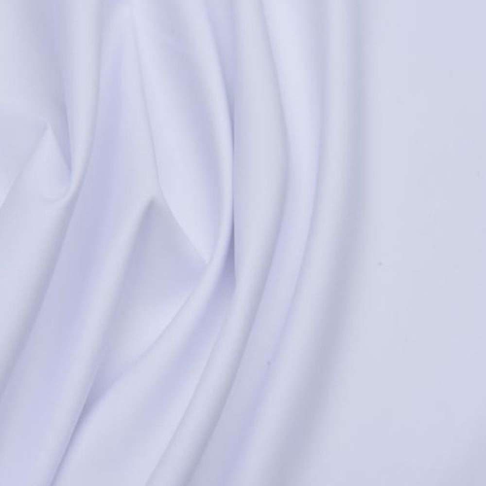 قماش ماستري ناعم خفيف أبيض