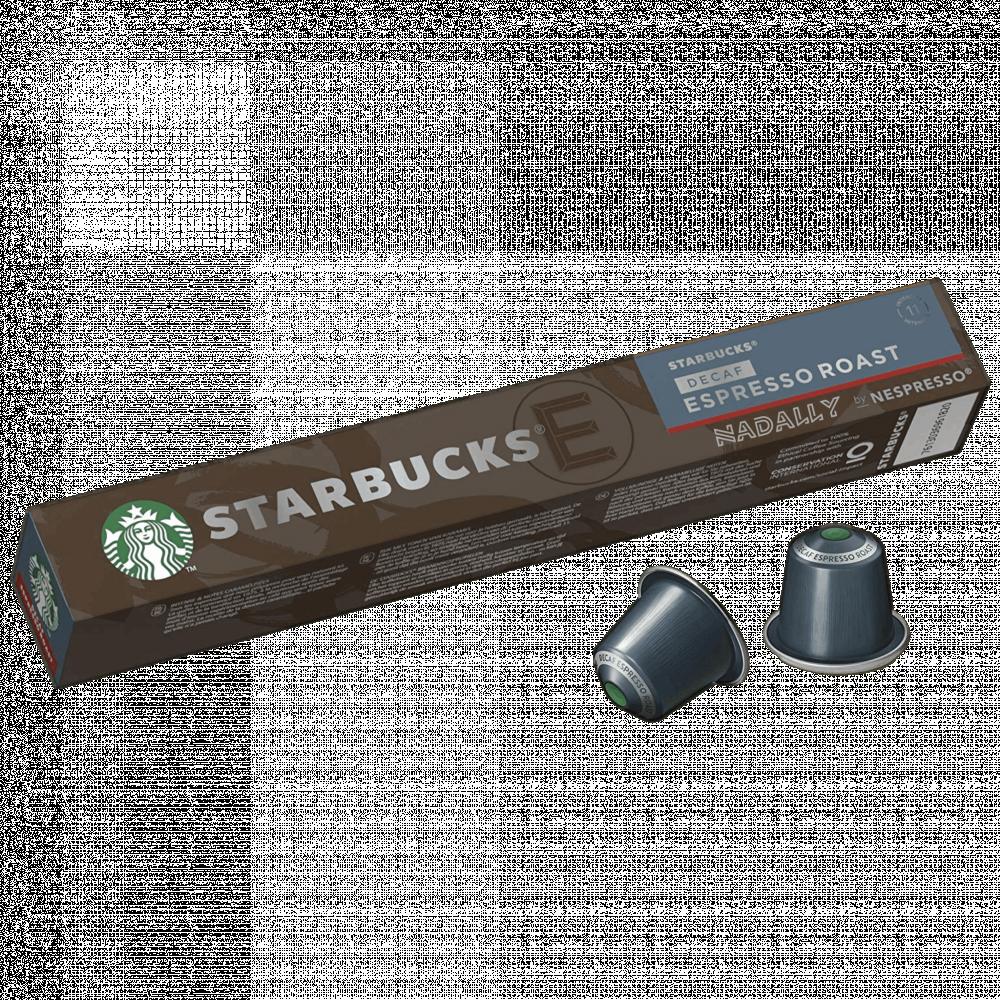 ديكاف اسبريسو قهوة ستاربكس كبسولات نسبريسو الأصلية Nespresso