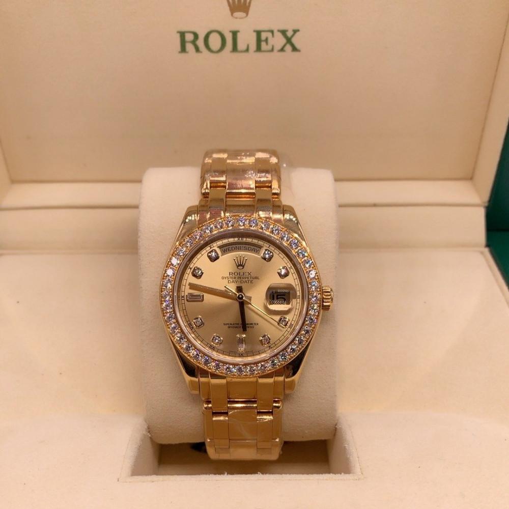 ساعة رولكس داي ديت الأصلية الثمينة جديدة تماما 18948