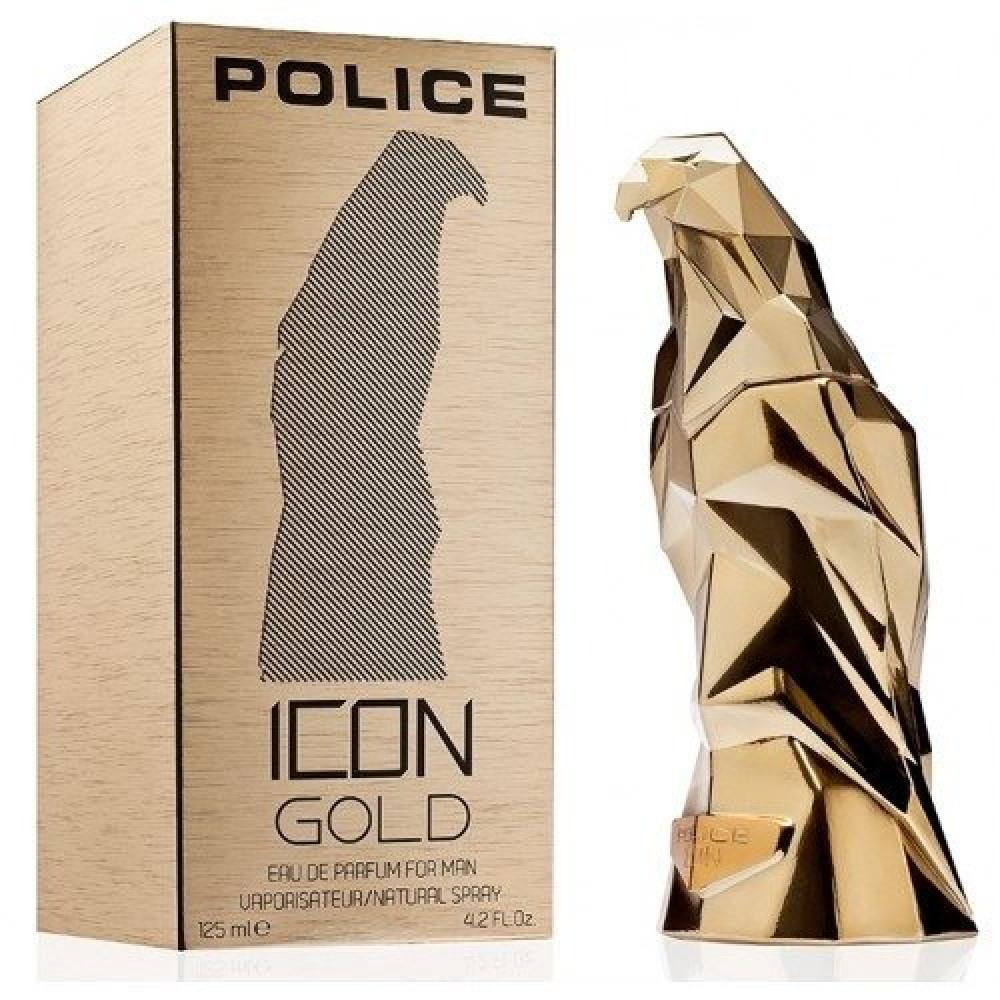Police Icon Gold Eau de Parfum 125ml متجر خبير العطور
