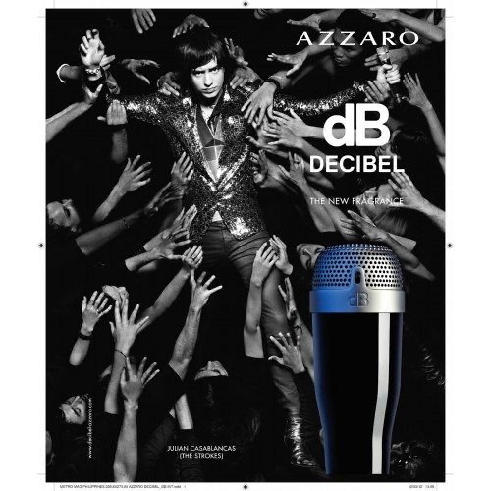 Azzaro Decibel Eau de Toilette Sample 1-2ml خبير العطور