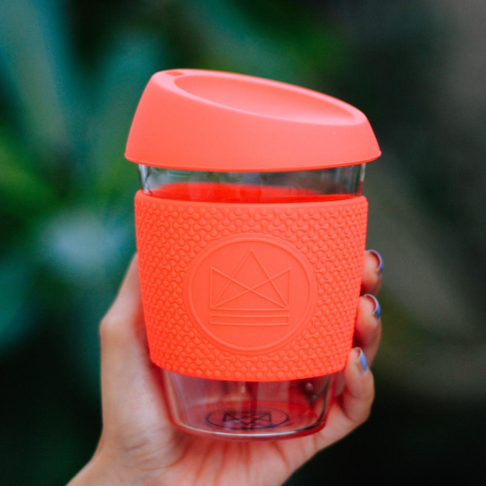 أفضل كوب حافظ للحرارة والبرودة كوب لاتيه كابتشينو neon kactus كوب زجاج