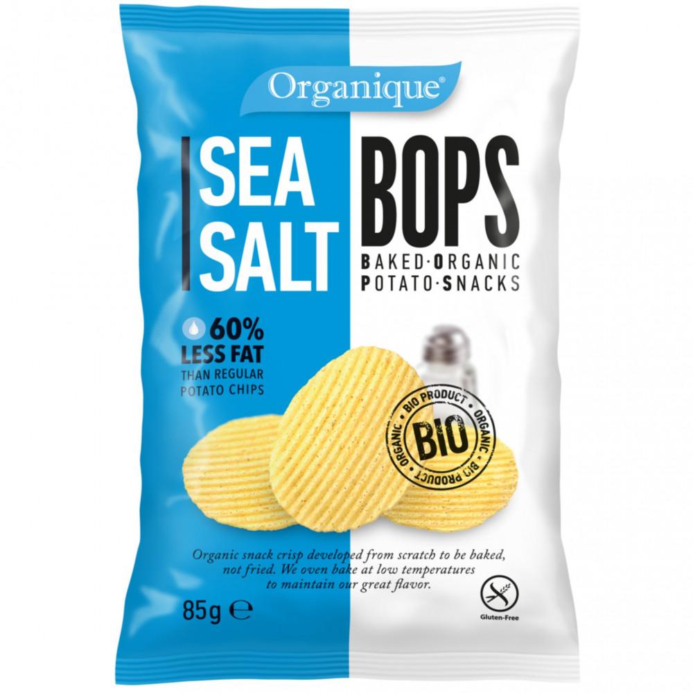 سناك البطاطس المحمصة مع توابل الملح البحري 85 جرام