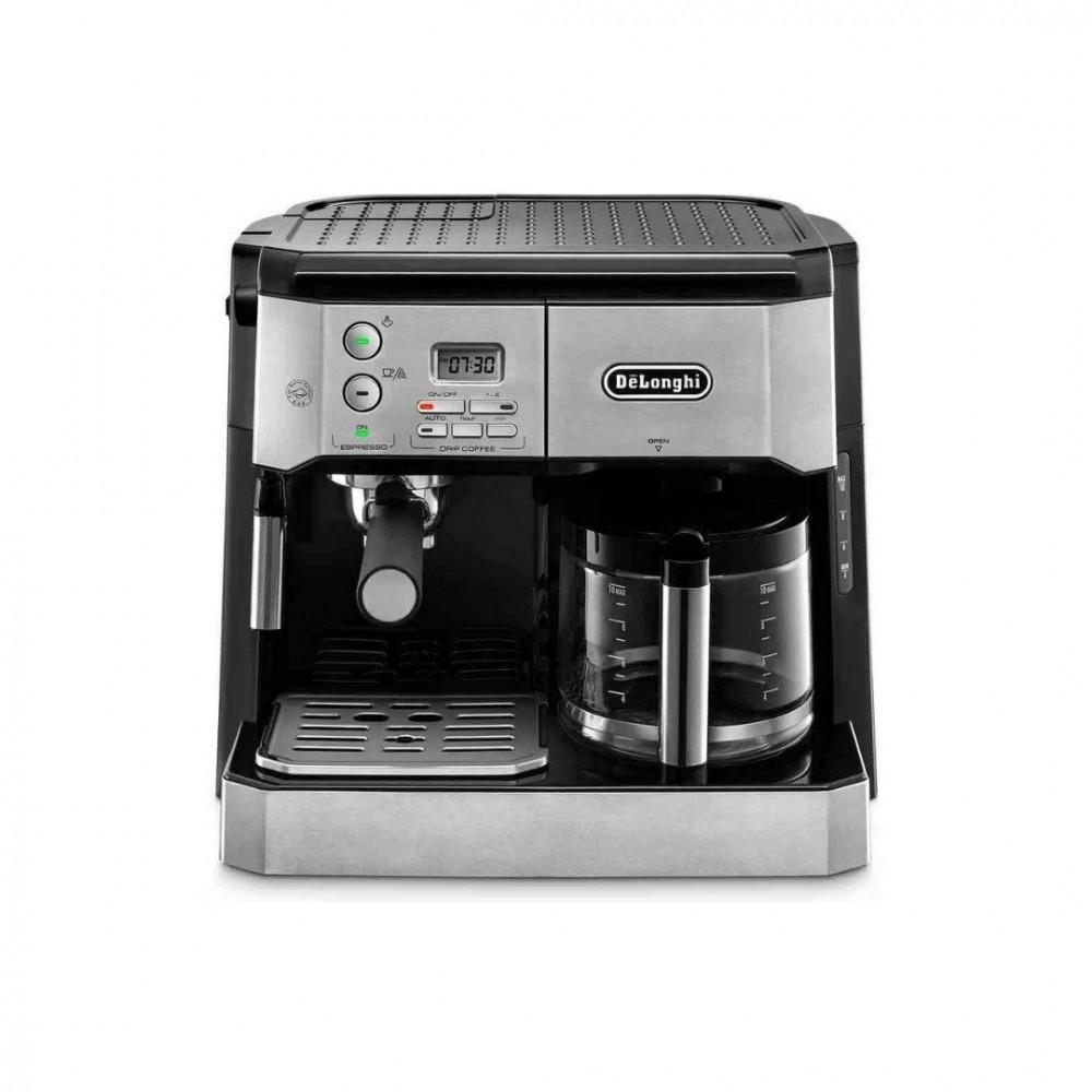 ماكينة الاسبريسو والقهوة الامريكية مع تبخير الحليب ماركة ديلونجي