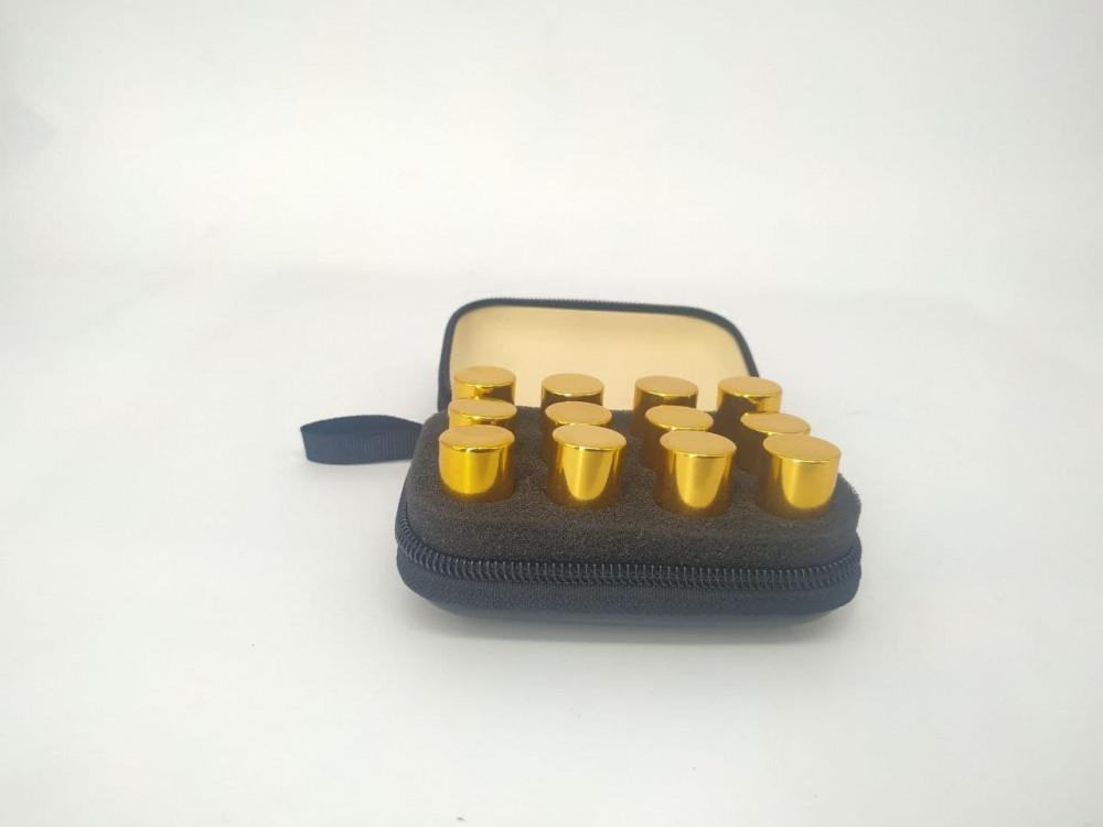 حقيبة جلد - 12 نوع من المسك المتعدد النكهات
