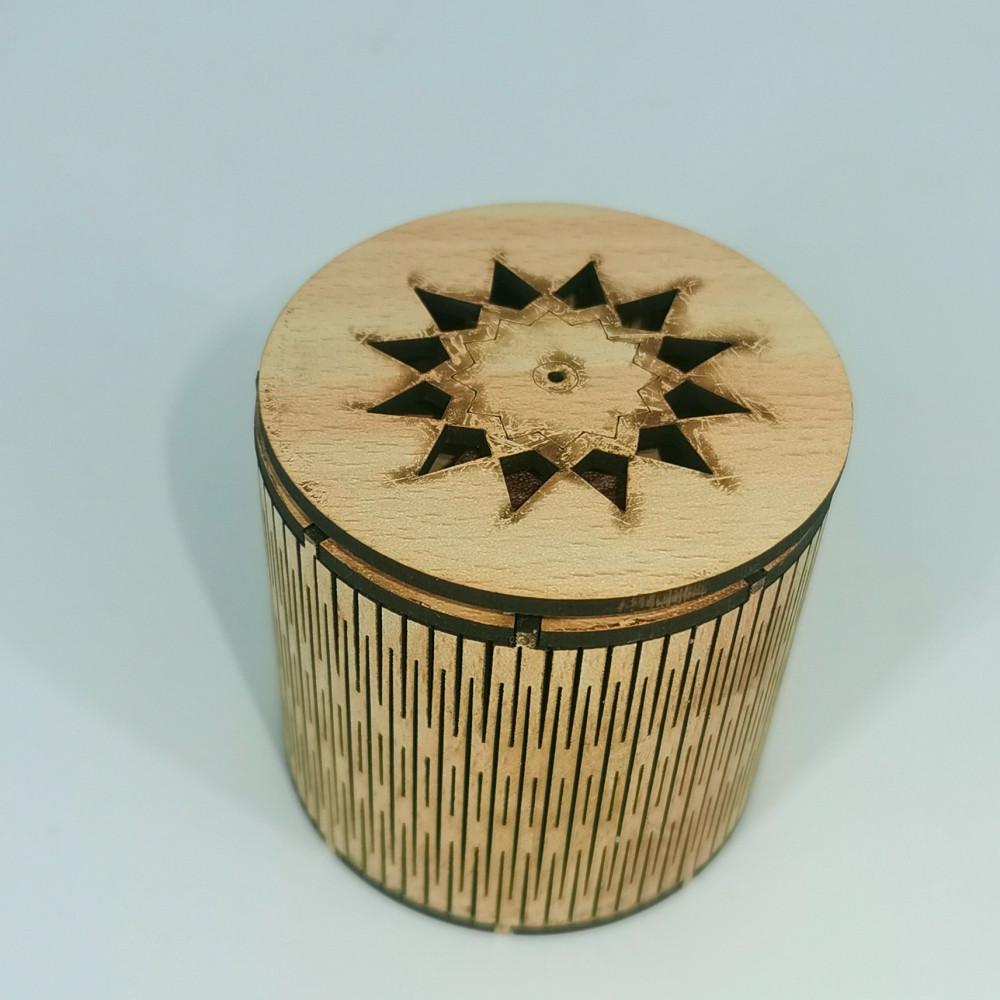 أعواد بخورمروكي - مبخرة سيارة خشبية