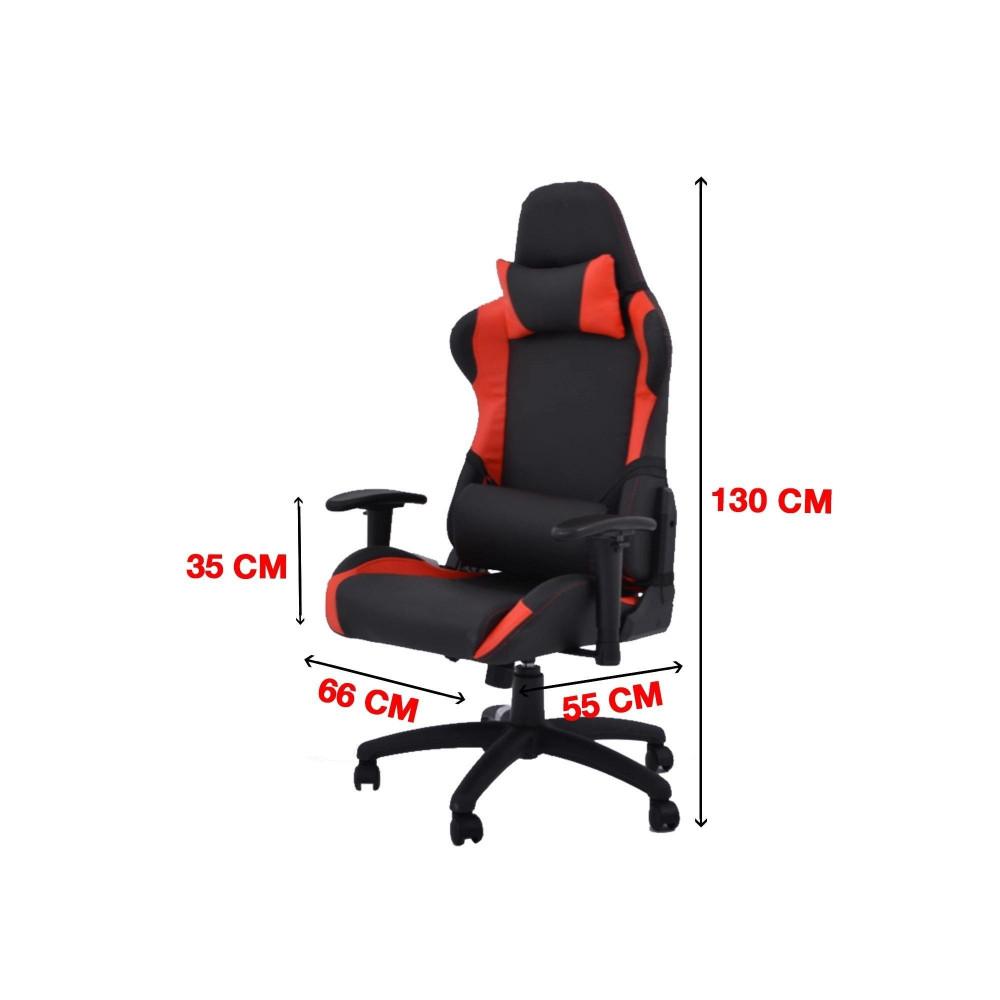 كرسي العاب احمر يد متحركة C-943-9300-2 من كاما