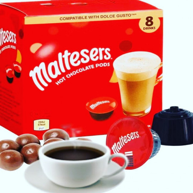 Maltesers Hot Chocolate Dulce Gusto Coffee Boutique