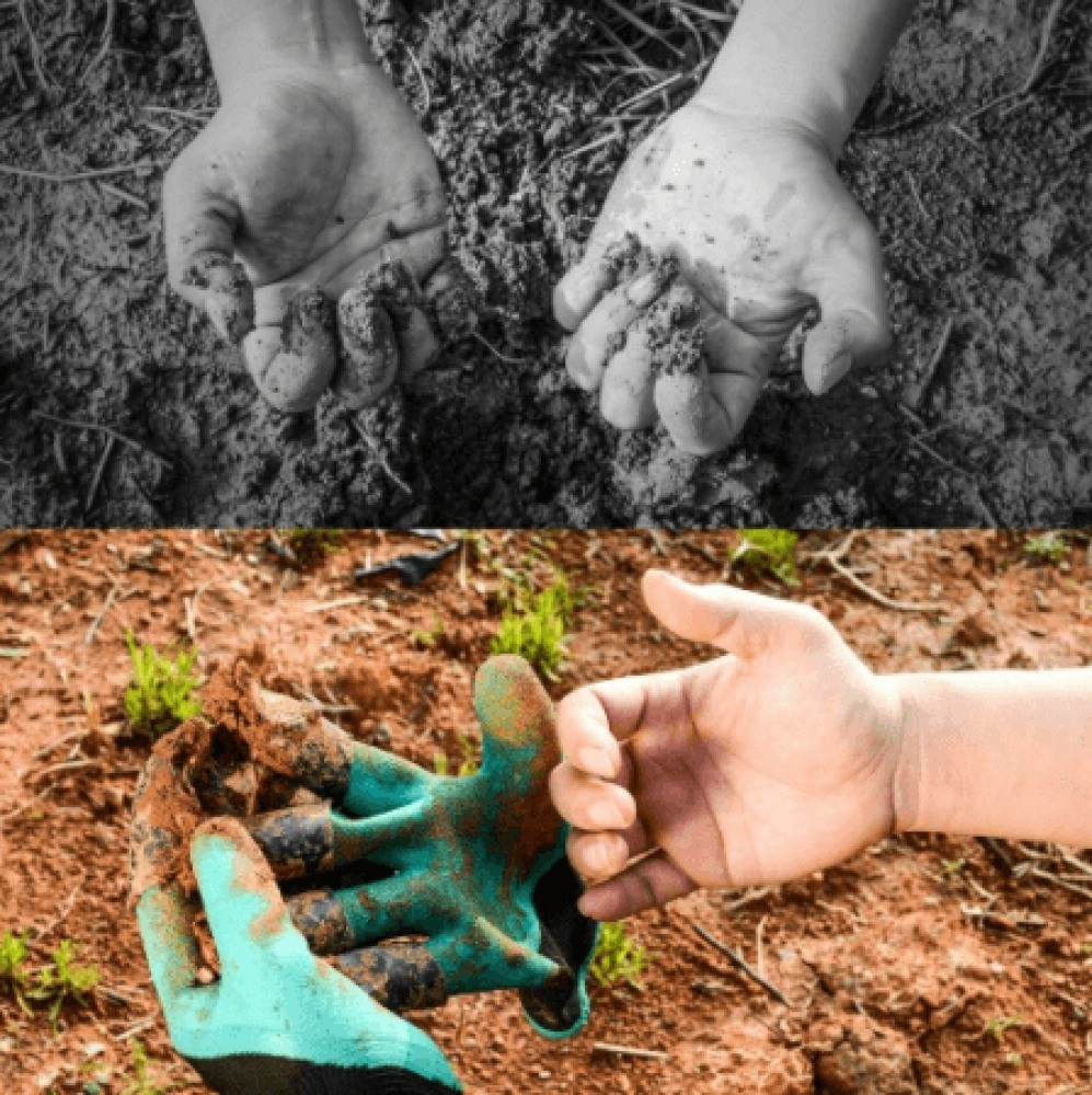 قفازات مخالب زراعية