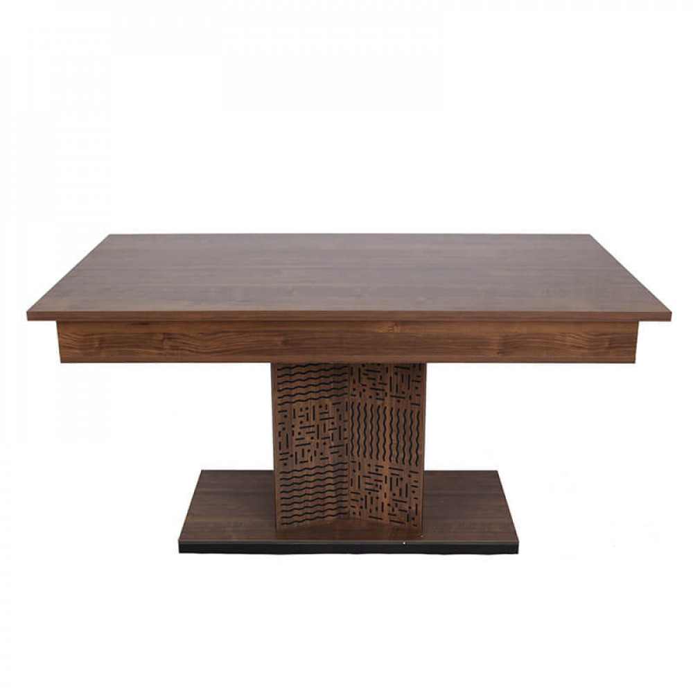 طاولة سفرة تركي موديل بابلو فخمة بتصميم مودرن من الخشب الطبيعي