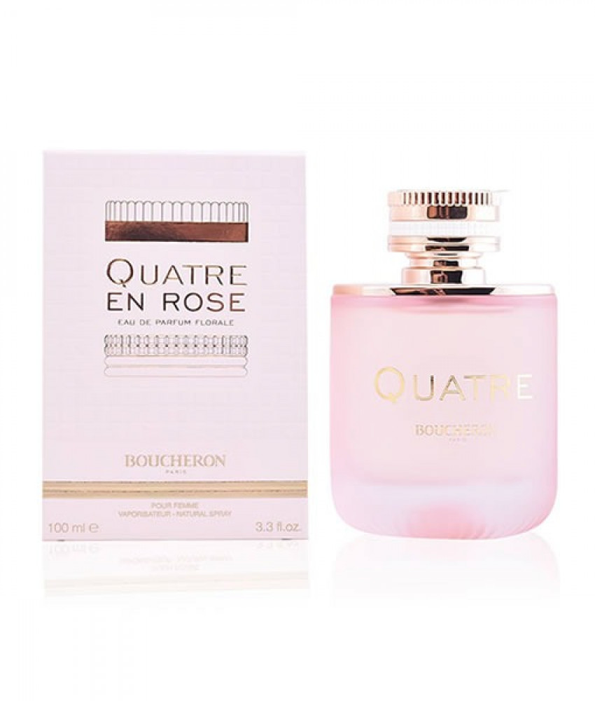 عطر بوشرون كواتر روز boucheron quatre en rose perfume