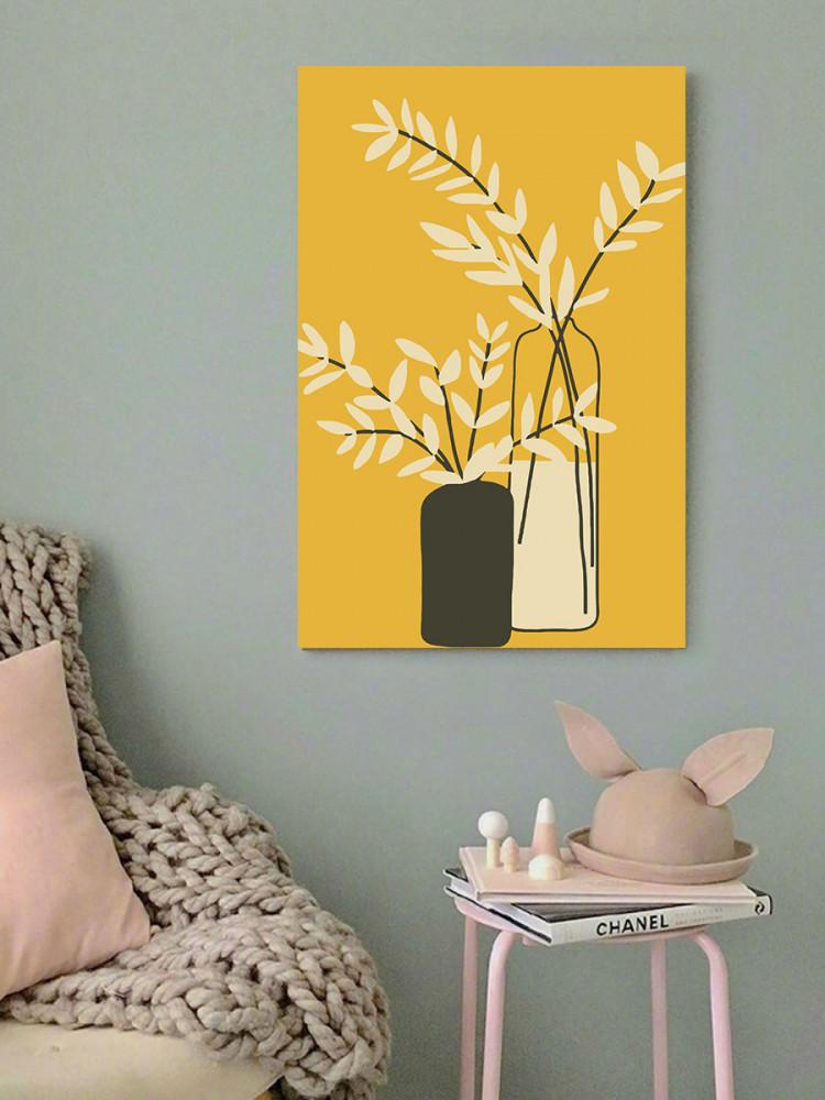 لوحة المزهرية خشب ام دي اف مقاس 40x60 سنتيمتر
