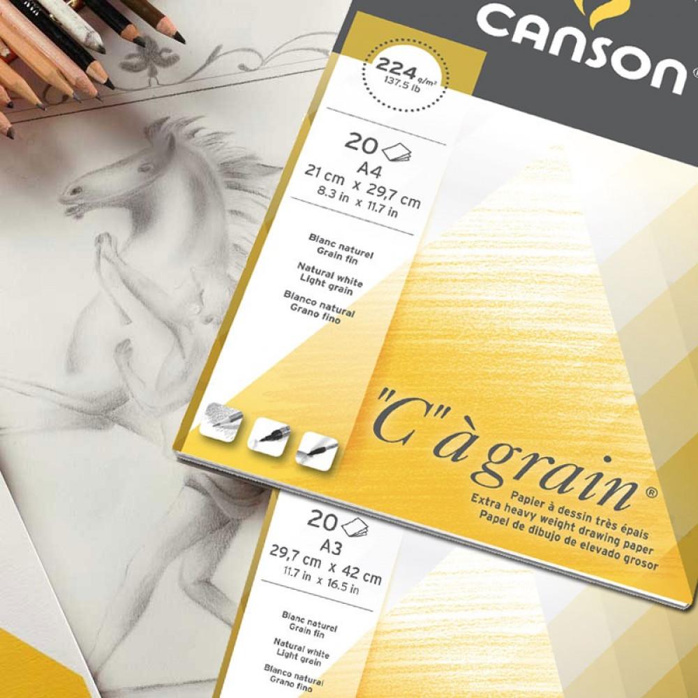 كراسة كانسون سي جرين 224 Canson C à grain