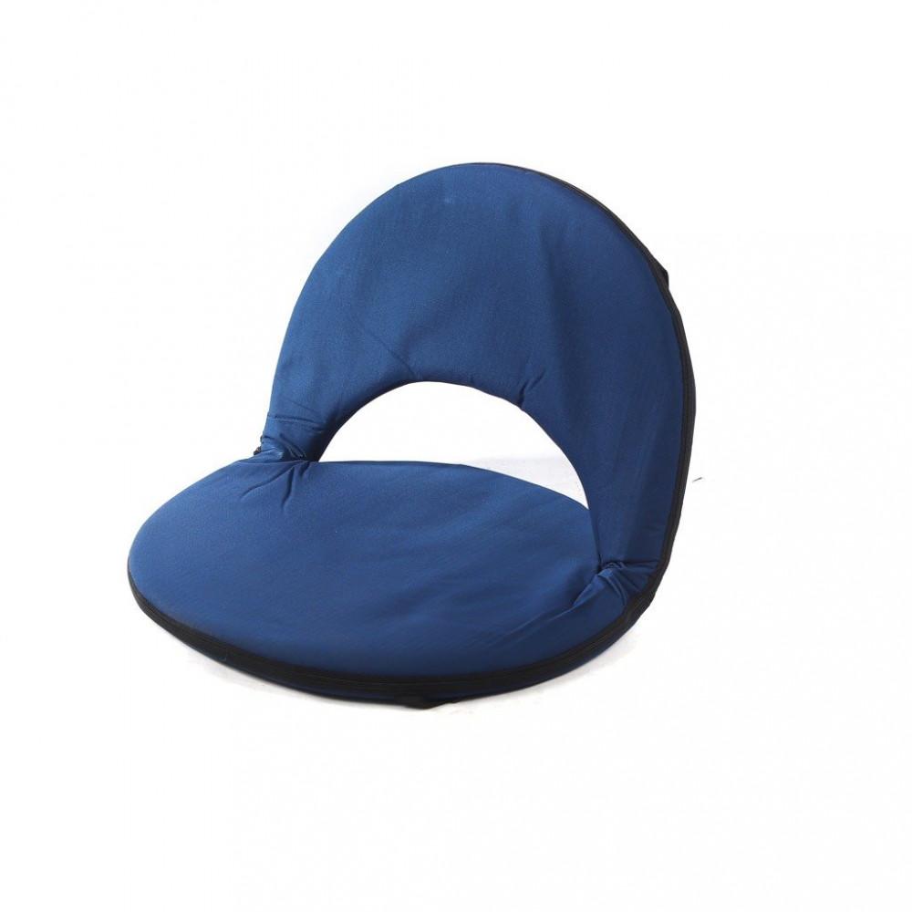 كرسي دائري مخمل قابل للطي