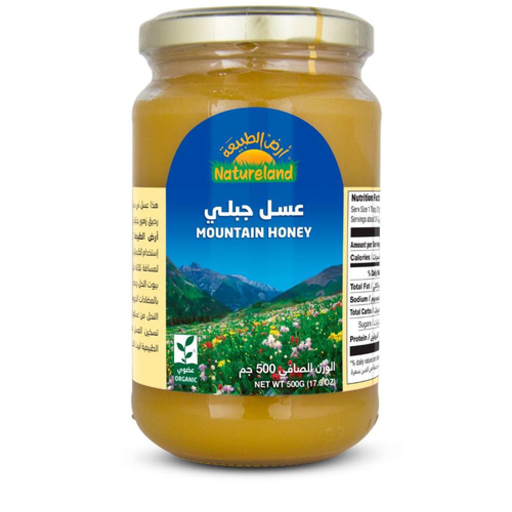 عسل جبلي عضوي 500 جرام