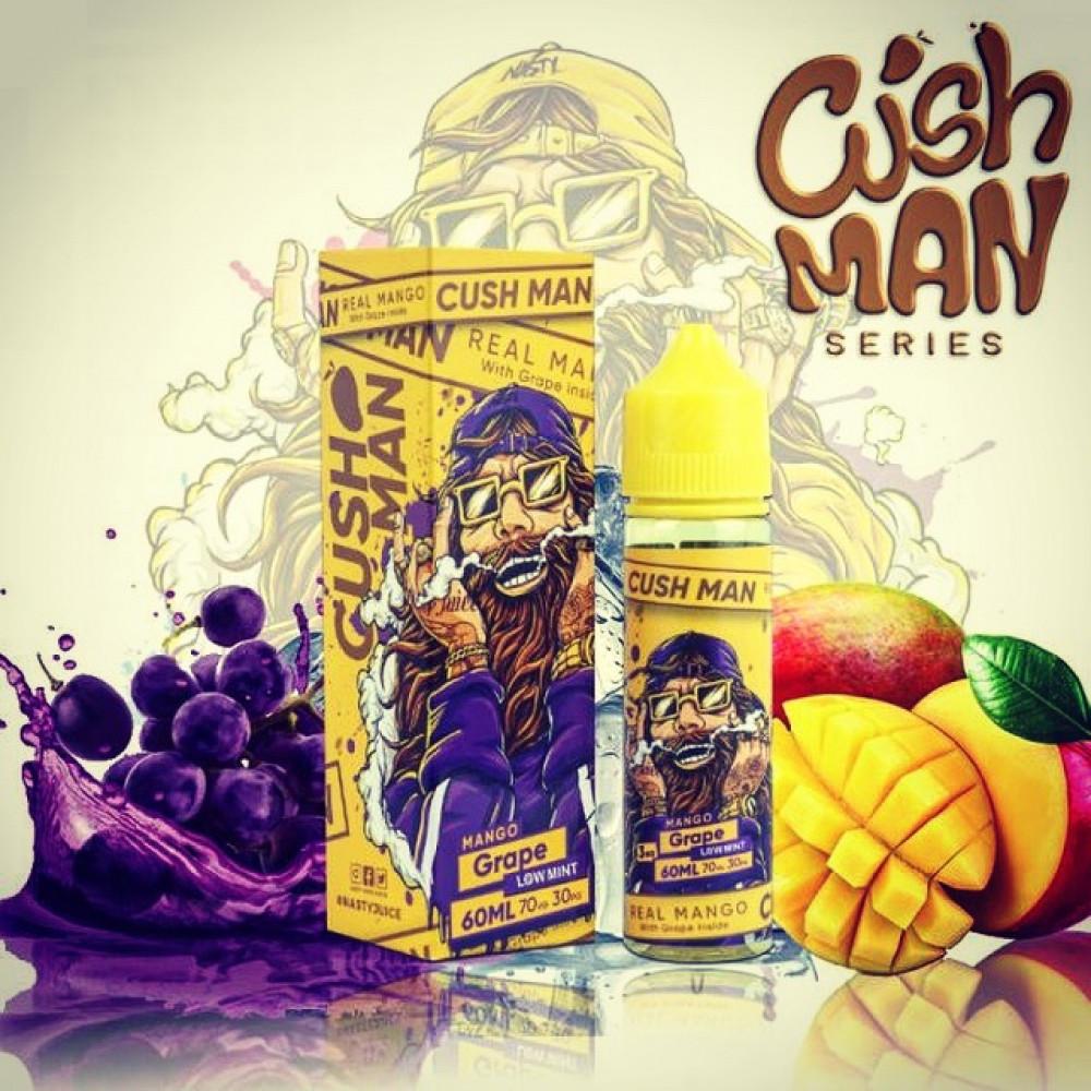 نكهة كاش مان مانجو عنب - CUSH MAN MANGO Grape - 60ML