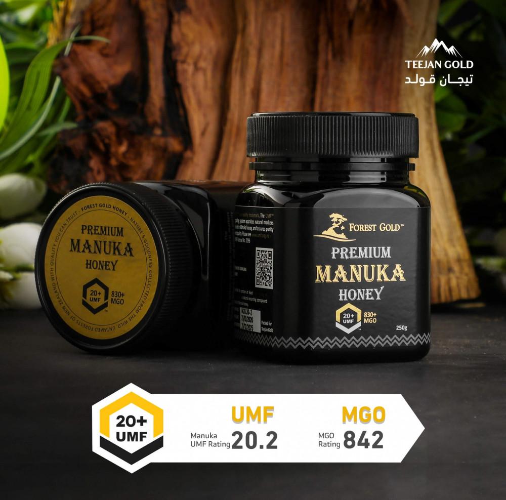 شراء عسل مانوكا UMF 20 - عسل المانوكا للبيع - تيجان قولد