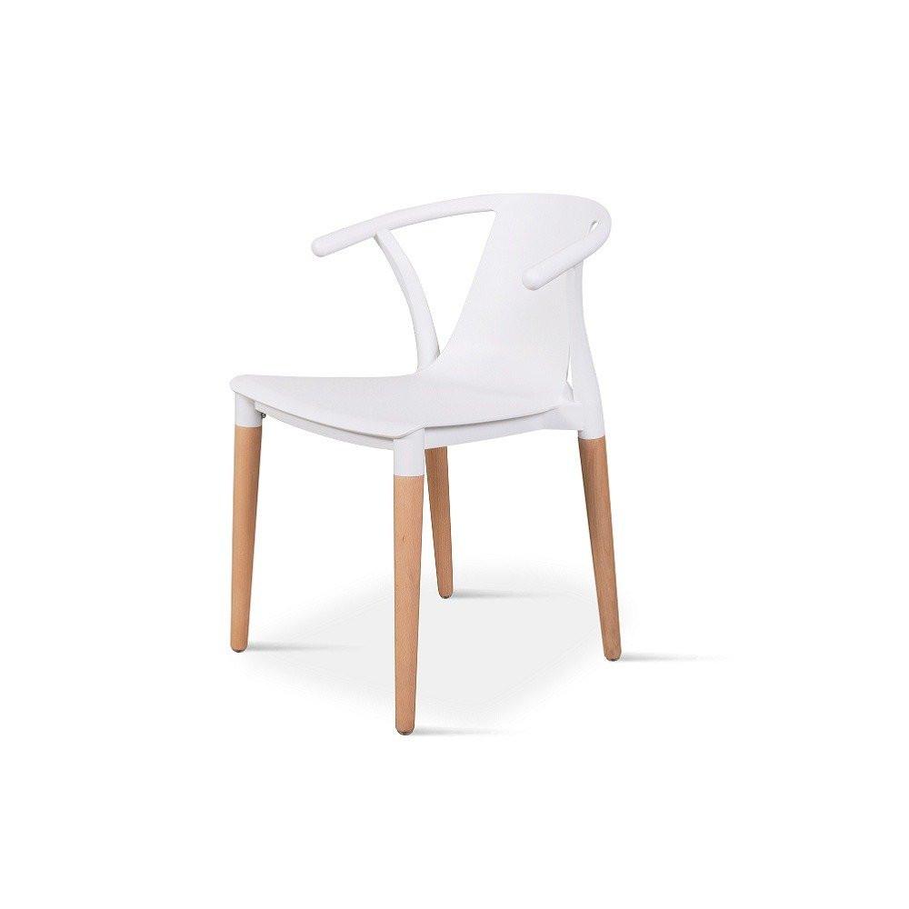 اشتري أجمل كرسي من طقم كراسي نيت هوم أبيض في تجارة بلا حدود للأثاث
