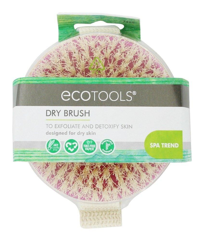 EcoTools فرشاة التقشير الجاف افضل فرشاه تقشير البشرة فرشاه للتقشير الج