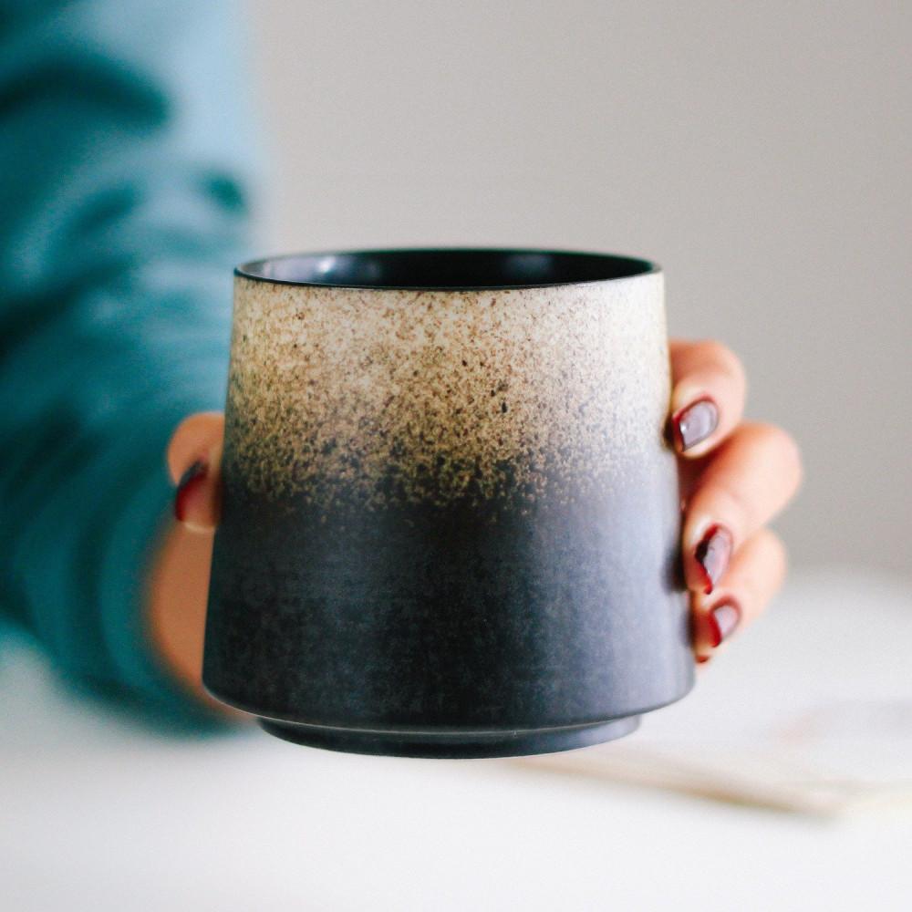 أكواب قهوة كوب أسود بيج فوجي أدوات القهوة المختصة فلات وايت كوب متجر