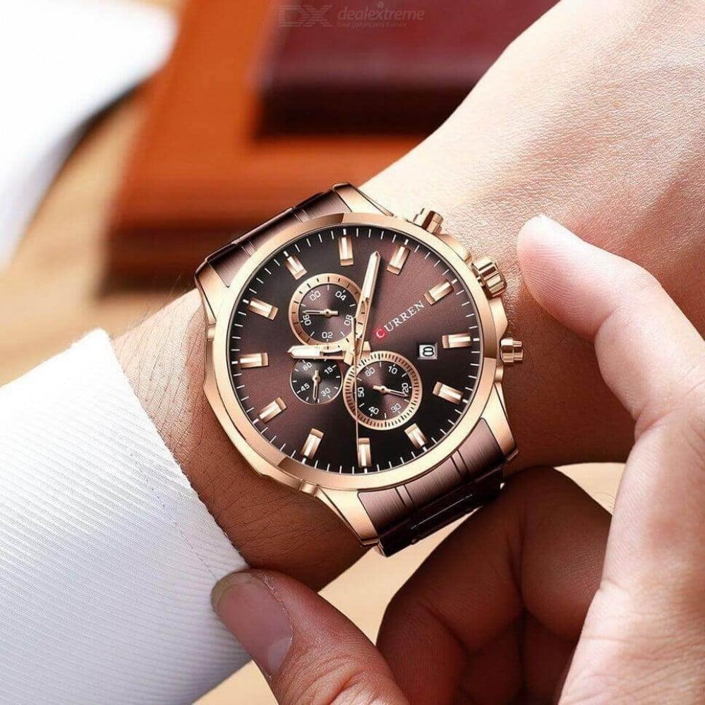 ساعة كورين بني روز
