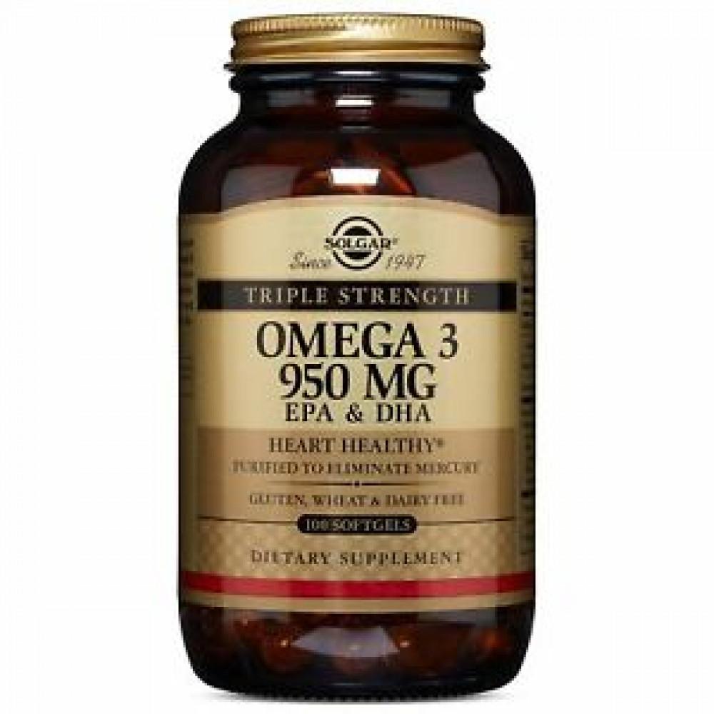 كبسولات اوميقا 3  SOLGER omega3 950 MG