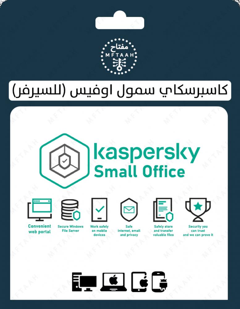 كاسبرسكاي سمول اوفيس للسيرفر kaspersky small office for server