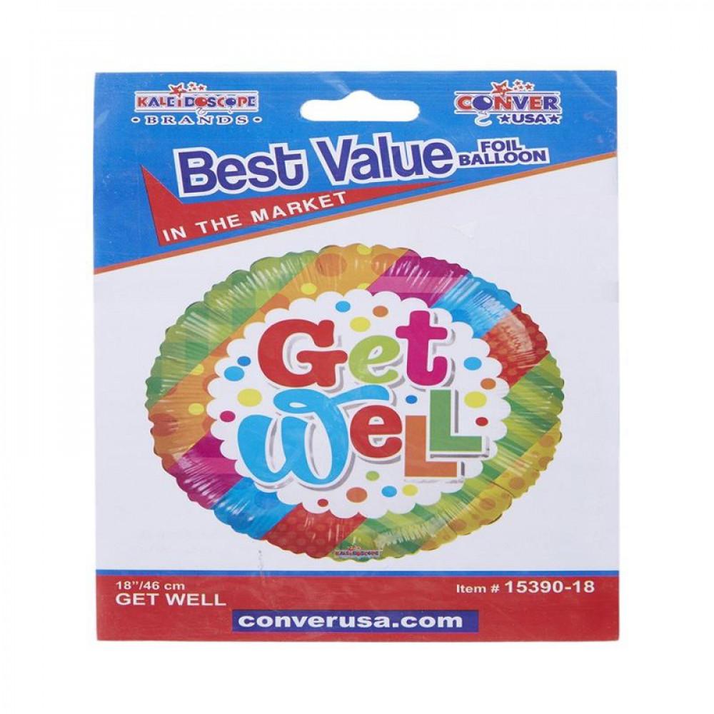بالون التحسن, بلونات أشكال, Get Well Balloon, Colorful Balloon