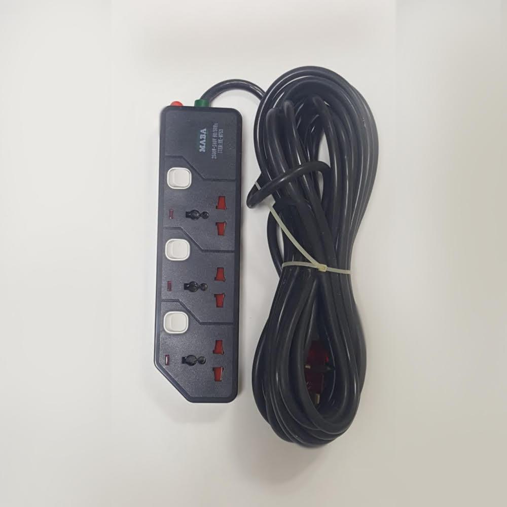 توصيلة كهرباء  10م - 3ف 16A