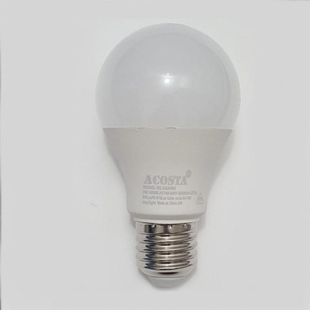 لمبة ليد LED LAMP A60 9W WH 220V موفرة للطاقة الانارة الاضاءة