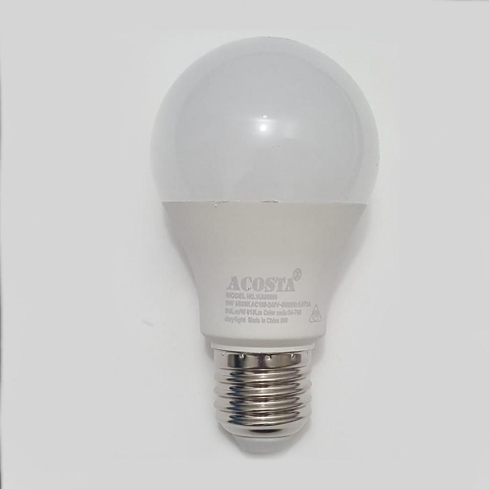 لمبة ليد LED LAMP A60 9W WH 220V