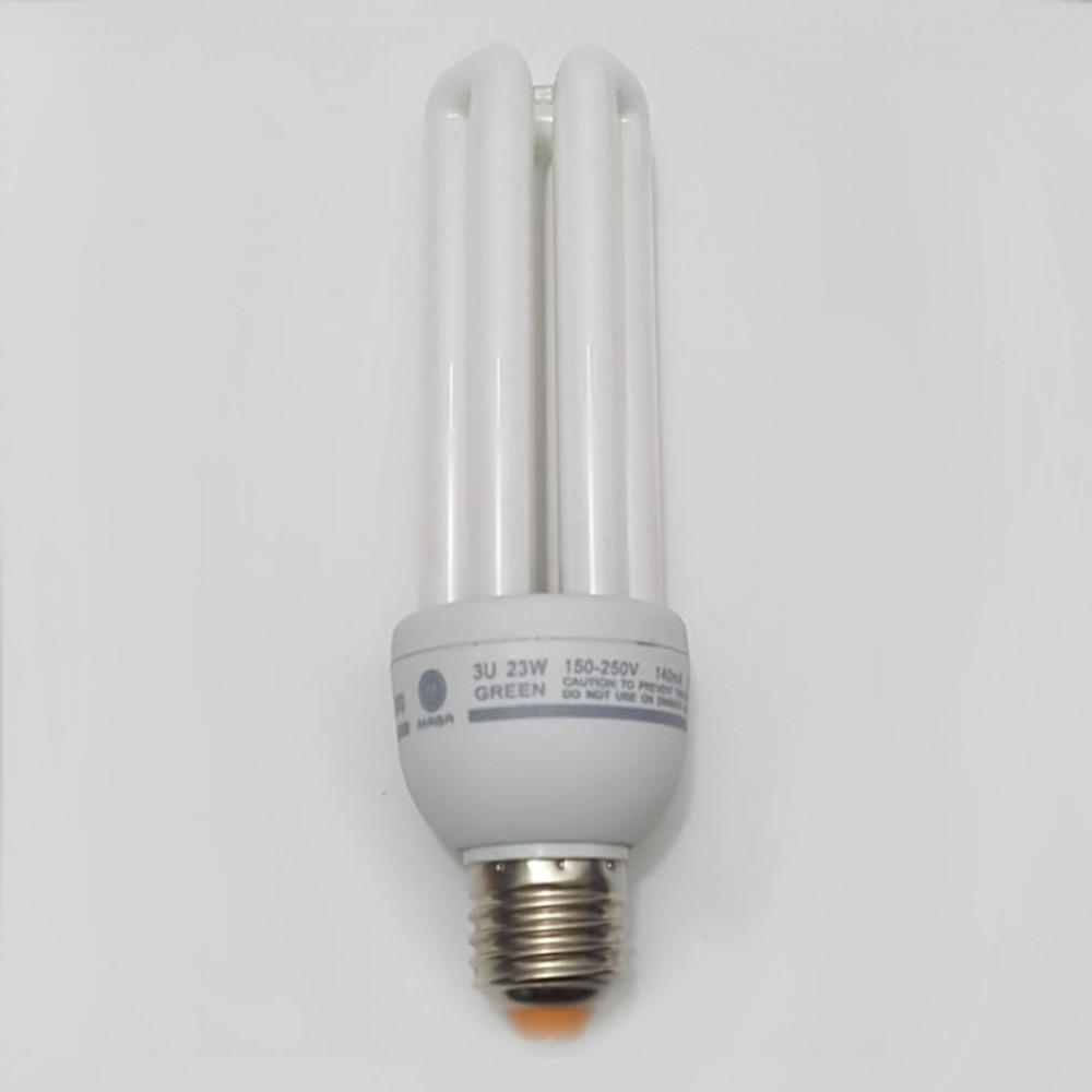 لمبة توفيرية اصابع اخضر spiral energy saving lamp E27 23W 220V