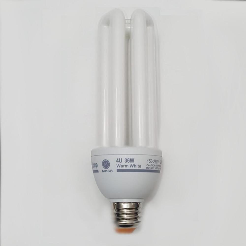 لمبة توفيرية اصابع اصفر spiral energy saving lamp E27 36W 220V