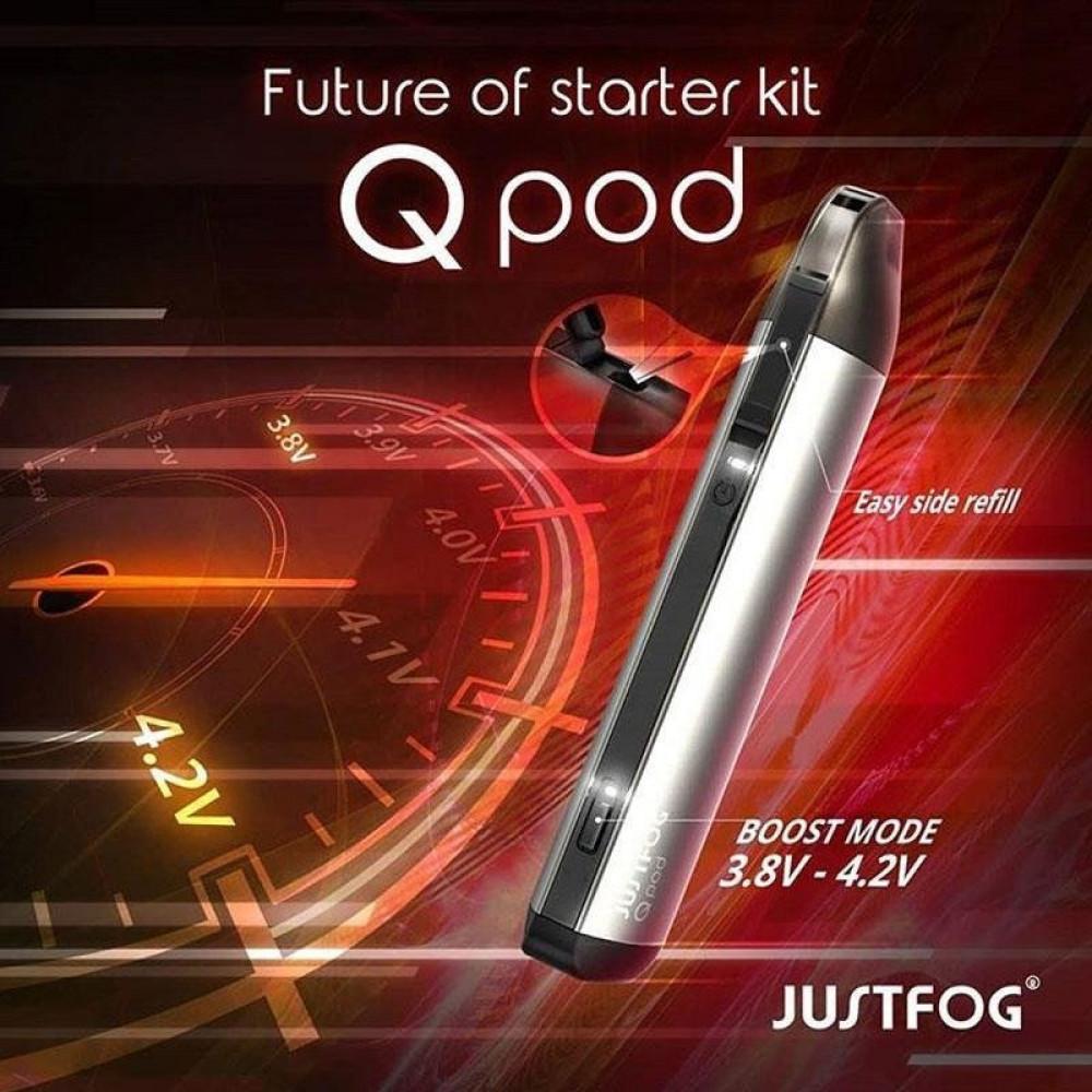 سحبة جست فوج كيو بود كيت - JUSTFOG Q Pod Kit - سحبة سيجارة فيب نكهات