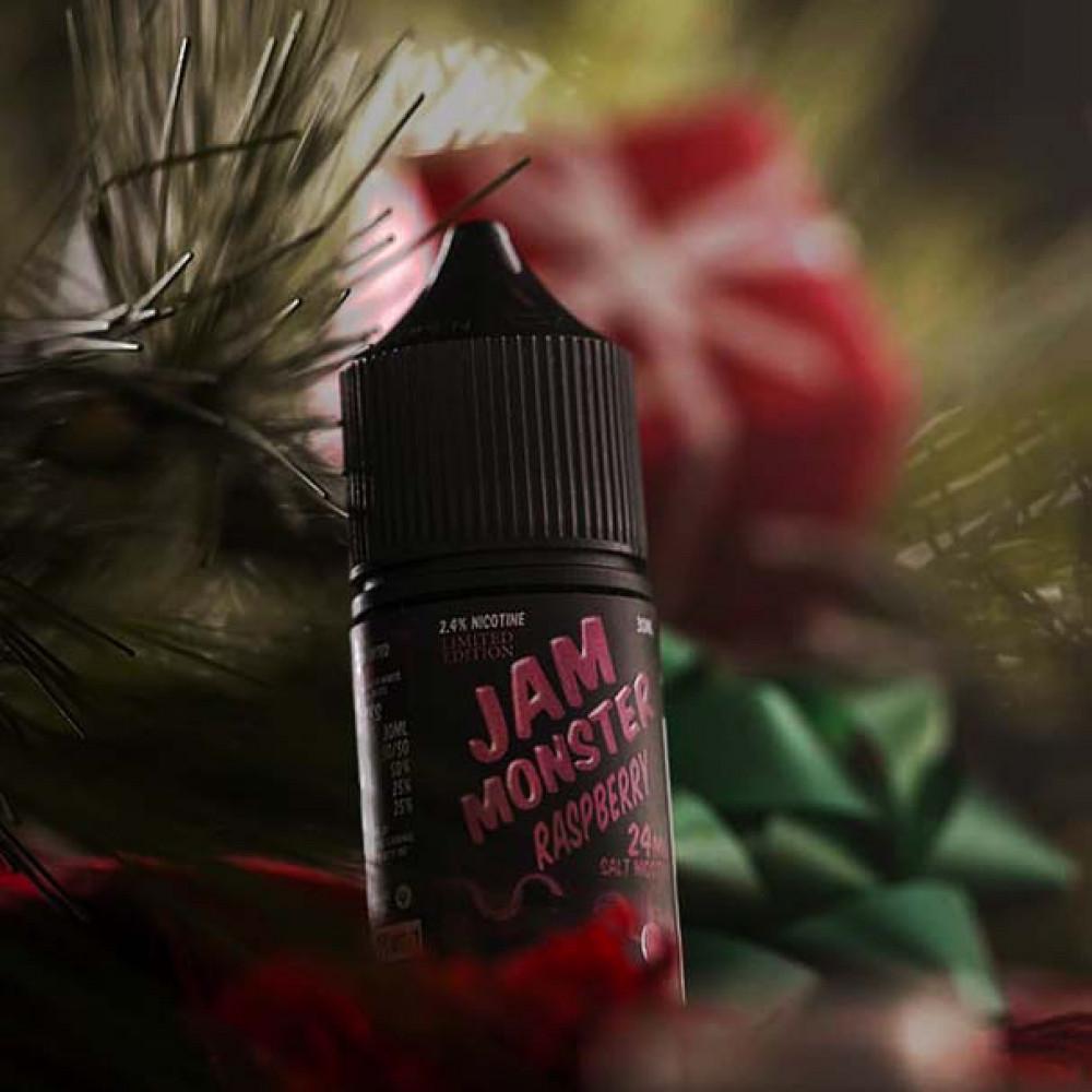 نكهة جام مونستر مربى التوت - سولت - Jam Monster Raspberry Salt