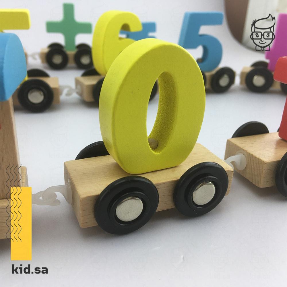 العاب ارقام خشبية